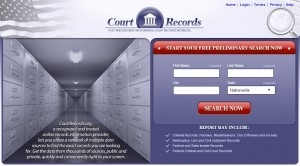Hompage-Screenshot-Of-CourtRecords.org-Website